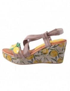 Sandale dama, piele naturala, marca Marila, Cod 184MA-B2-36, culoare taupe