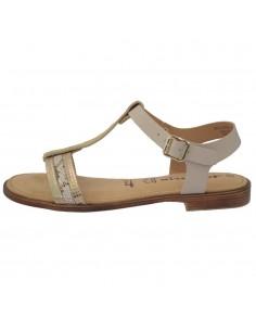 Sandale dama, din piele naturala, marca Tamaris, 1-28149-22-03-10, bej