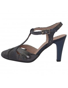 Pantofi dama, din piele naturala, marca Pitillos, 5576-19-18-132, negru
