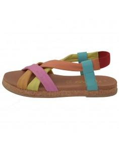 Sandale dama, din piele naturala, marca s.Oliver, 5-28100-22-15-15, multicolor