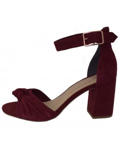 Sandale dama, din piele naturala, marca Tamaris, 1-28309-22-I4-10, bordo