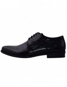 Pantofi eleganti barbati, piele naturala, marca Rieker, Cod B2610-00-01-22, culoare negru