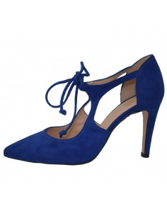 Pantofi dama, din piele naturala, marca Brenda Zaro, F2603-07-84, albastru
