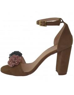Sandale dama, din piele naturala, marca Brenda Zaro, T1920-46-84, caffe