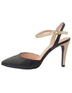 Pantofi dama, din piele naturala, marca Brenda Zaro, T3133-01-84, negru