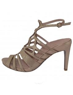 Sandale dama, din piele naturala, marca Tamaris, 1-28317-22-12-10, auriu