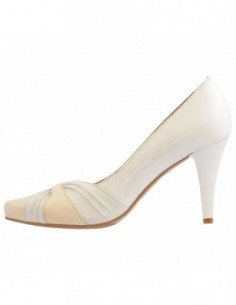 Pantofi dama, din piele naturala, marca Botta, B91-0566927-13-05, alb