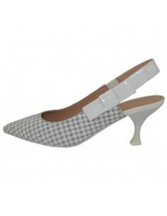 Pantofi dama, din piele naturala, marca Geox, D92BWA-C1303-14-06, gri