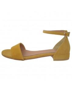 Sandale dama, din piele naturala, marca Gioseppo, 48940-08-12, galben