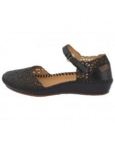 Sandale dama, din piele naturala, marca Pikolinos, 655-1532-01-21, negru