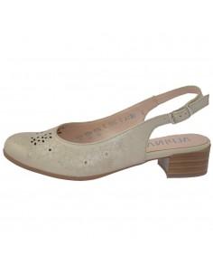 Pantofi dama, din piele naturala, marca Alpina, 9K34-2-03-23, bej