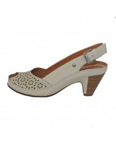 Sandale dama, din piele naturala, marca Pikolinos, W5A-1702-03-21, bej