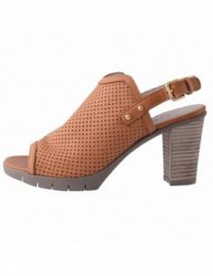 Sandale dama, piele naturala, marca Flexx, Cod C611-01-04-18, culoare camel