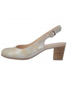 Pantofi dama, din piele naturala, marca Alpina, 9K25-3-12-23, auriu