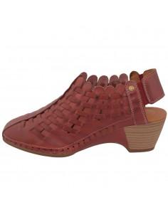 Pantofi dama, din piele naturala, marca Pikolinos, W9X-1745-05-21, rosu