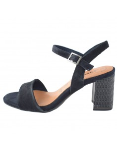 Sandale dama, din piele naturala, marca Tamaris, 1-28359-22-42-10, bleumarin