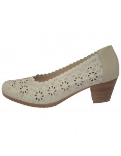 Pantofi dama, din piele naturala, marca Alpina, 8990-2-03-23, bej
