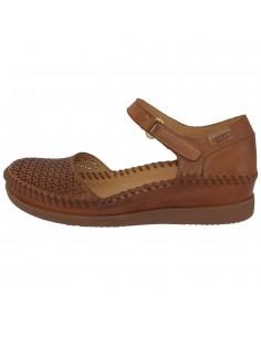 Sandale dama, din piele naturala, marca Pikolinos, W8K-0792-04-21, camel