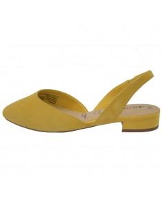 Pantofi dama, din piele naturala, marca Tamaris, 1-29401-22-08-10, galben