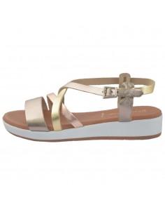 Sandale dama, din piele naturala, marca Formentera, A22A4023AU-12-29, auriu