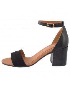 Sandale dama, din piele naturala, marca Carla Sellini, 2613774NER-01-120, negru