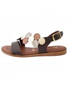Sandale dama, din piele naturala, marca Tamaris, 1-28139-22-02-10, maro