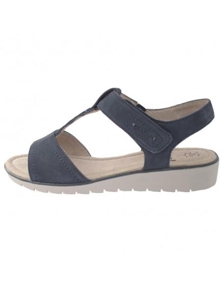 Ghete Le scarpe din piele naturală gri 206