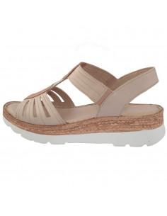 Sandale dama, din piele naturala, marca Carla Sellini, 9113501NUD-M2-120, nude