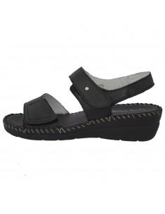 Sandale dama, din piele naturala, marca Carla Sellini, 9172891NER-01-120, negru