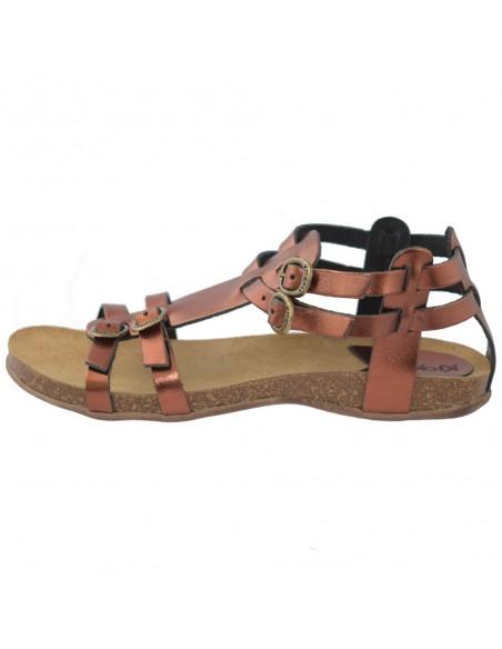 Sandale dama, din piele naturala, marca KicKers, 281778-50-02-134, maro