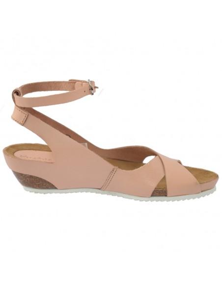 Sandale dama, din piele naturala, marca KicKers, 609541-50-M2-134, nude