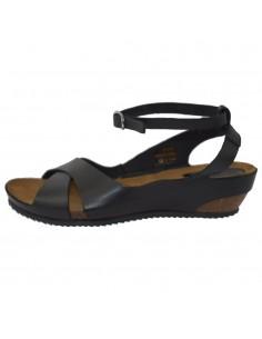 Sandale dama, din piele naturala, marca KicKers, 609541-50-01-134, negru