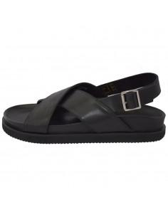 Sandale barbati, din piele naturala, marca KicKers, 694360-60-01-134, negru