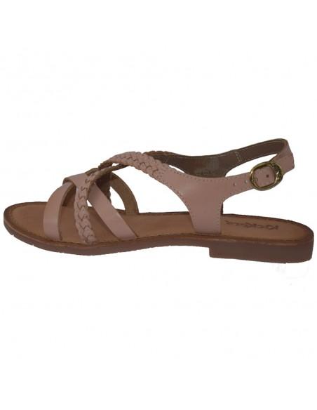 Sandale dama, din piele naturala, marca KicKers, 708850-50-M2-134, nude
