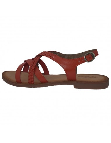 Sandale dama, din piele naturala, marca KicKers, 708850-50-11-134, orange