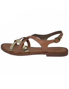 Sandale dama, din piele naturala, marca KicKers, 708851-50-04-134, camel