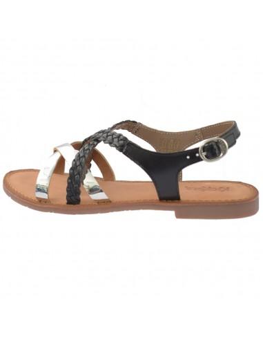 Sandale dama, din piele naturala, marca KicKers, 708851-50-01-134, negru
