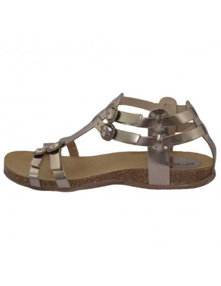 Sandale dama, din piele naturala, marca KicKers, 281778-50-17-134, bronz