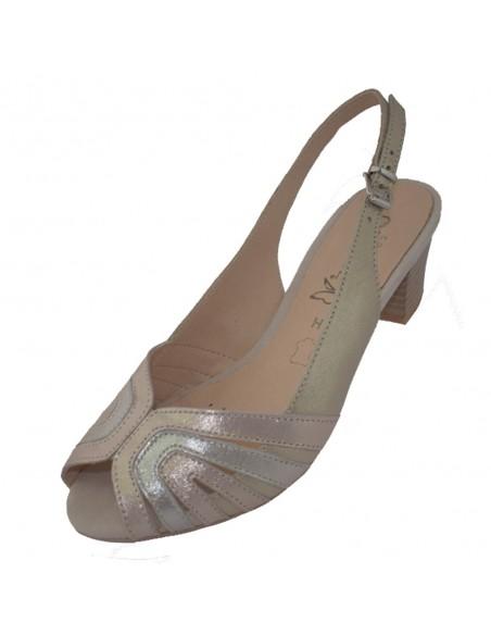 Sandale dama, din piele naturala, marca Caprice, 9-28206-22-10-03, roze