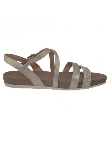 Sandale dama, din piele naturala, marca Caprice, 9-28110-22-12-03, auriu