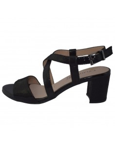 Sandale dama, din piele naturala, marca Caprice, 9-28300-22-19-01-03, negru