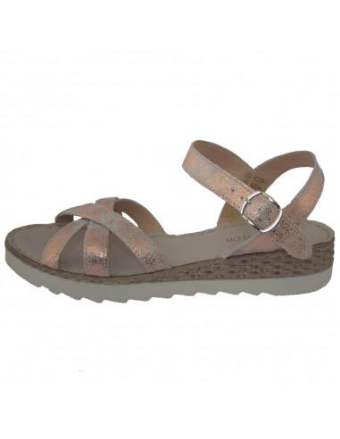 Sandale dama, din piele naturala, marca Formentera, A5A356NU-10-29, roze