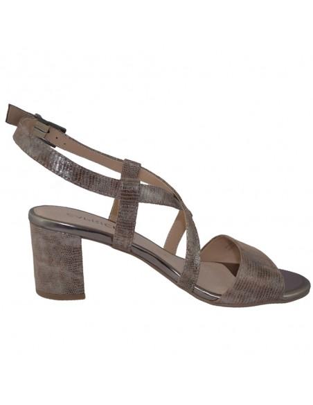 Sandale dama, din piele naturala, marca Caprice, 9-28300-22-03-03, bej