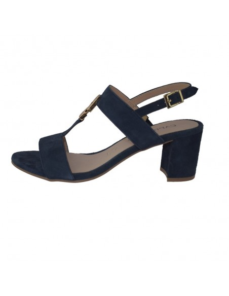 Sandale dama, din piele naturala, marca Caprice, 9-28303-22-42-03, bleumarin