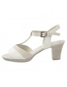 Sandale dama, din piele naturala, marca Jana, 8-28307-22-13, alb