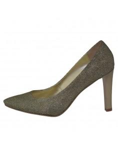 Pantofi dama, din piele naturala, marca Botta, 428-12, auriu