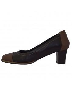 Pantofi dama, din piele naturala, marca Neno, 22413-01-02-71, maro