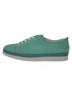 Pantofi dama, din piele naturala, marca Jana, 23608-6, verde
