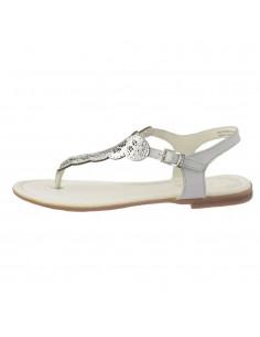 Sandale dama, piele naturala, marca s.Oliver, Cod 28102-18-15, culoare argintiu