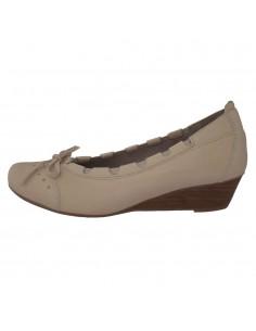 Pantofi dama, din piele naturala, marca Softwaves, 47503-03-82, crem